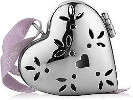 """Духи, Парфюмерия, косметика Ароматизатор в форме маленького сердца """"Льняной цветок"""" - Collines de Provence Heart Pomander Linen Flower"""