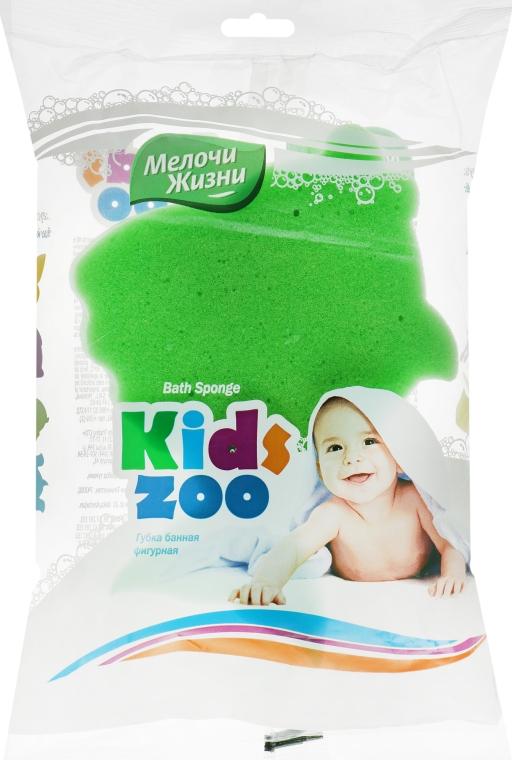 """Губка банная фигурная """"Kidszoo, рыбка зеленая - Мелочи Жизни"""