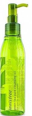 Гидрофильное масло - Innisfree Green Tea Pure Cleansing Oil — фото N1