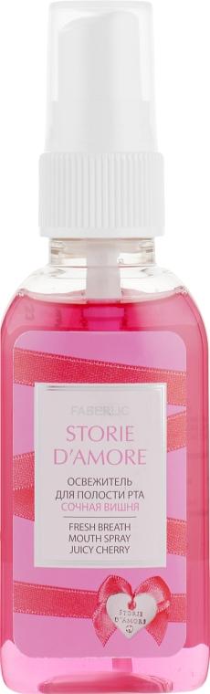 """Освежитель для полости рта """"Сочная вишня"""" - Faberlic Storie d'Amore"""