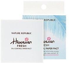 Духи, Парфюмерия, косметика Матирующие салфетки для лица - Nature Republic Hawaiian Fresh Oil-Control Paper Pact
