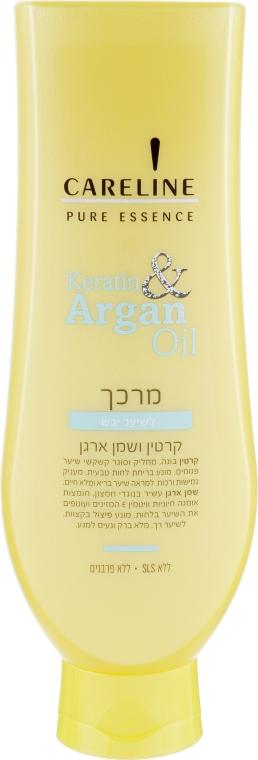 """Кондиционер для сухих волос """"Кератин и Аргановое масло"""" - Careline Pure Essence Conditioner for Dry Hair"""