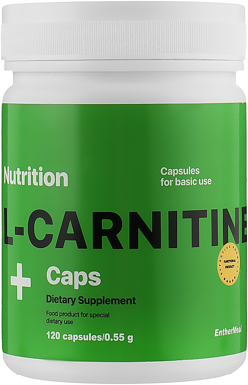 "Жиросжигатель ""L-Карнитин"" в капсулах - EntherMeal L-Carnitine"