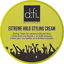 Духи, Парфюмерия, косметика Стайлинг-крем для волос - D:fi Extreme Hold Styling Cream