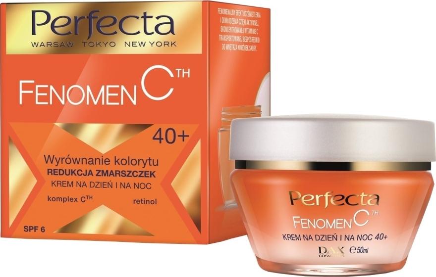 Крем для лица от морщин - Perfecta Fenomen C Cream 40+ Spf 6