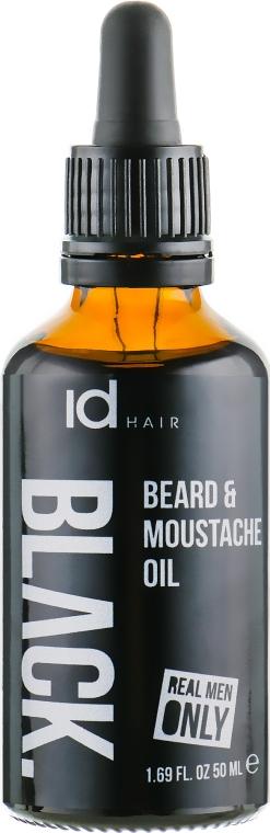 Масло для ухода за бородой и усами - idHair Black Beard Oil