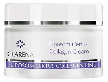 Липосомальный крем с растительным и морским коллагеном - Clarena Liposom Certus Collagen Cream