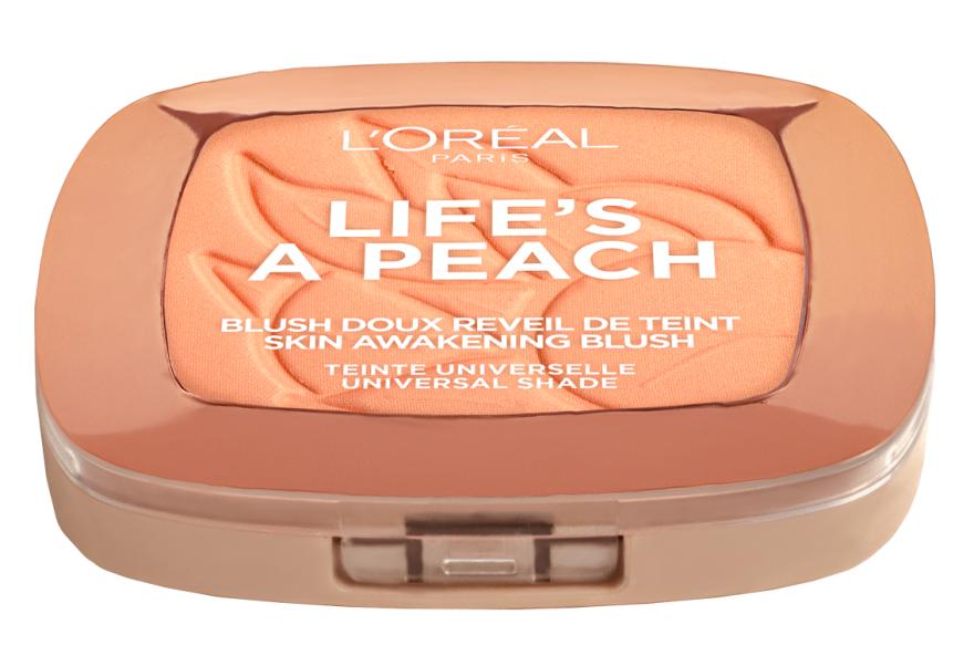 Румяна для лица - L'Oreal Paris Life's a Peach Blush Powder — фото N4