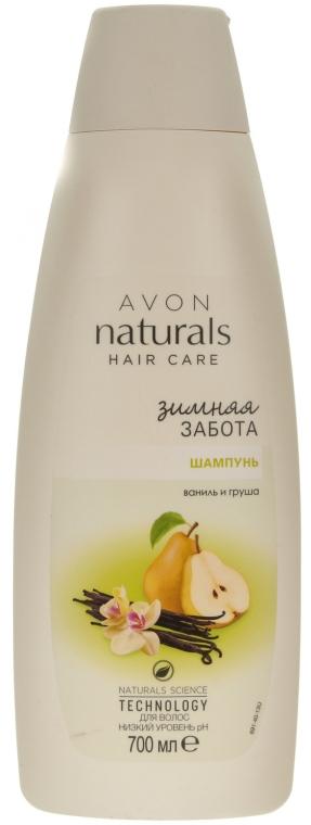 """Шампунь для волос """"Зимняя забота. Ваниль и груша"""" - Avon Naturals Hair Care Shampoo"""
