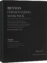 Духи, Парфюмерия, косметика Набор ферментированных масок для лица - Benton Fermentation Mask Pack