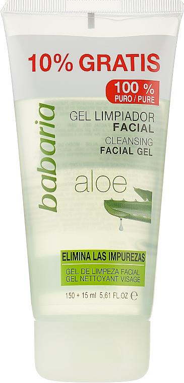 Очищающий гель с алоэ вера - Babaria Aloe Vera Face Cleansing Gel