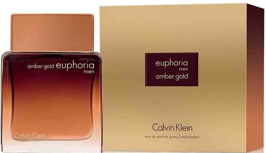 Calvin Klein Euphoria Amber Gold Men - Парфюмированная вода