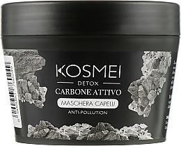 Духи, Парфюмерия, косметика Маска для волос с древесным углем - Kosmei Detox Carbone Maschera Capelli Vegetale