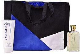 Духи, Парфюмерия, косметика Lancaster Eau de Lancaster - Набор (edt/125ml + b/milk/200ml + bag)