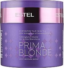 Парфумерія, косметика Срібляста маска для холодних відтінків блонд - Estel Professional Prima Blonde Mask