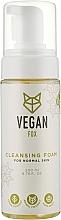 Духи, Парфюмерия, косметика Очищающая пенка для нормальной кожи - Vegan Fox Cleansing Foam For Normal Skin