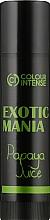 """Духи, Парфюмерия, косметика Бальзам для губ """"Exotic Mania"""" с ароматом папайи - Colour Intense Lip Balm"""