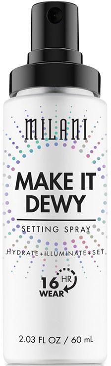 Спрей для фиксации макияжа с эффектом сияния 3 в 1 - Milani Make It Dewy 3-In-1 Setting Spray Hydrate + Illuminate + Set