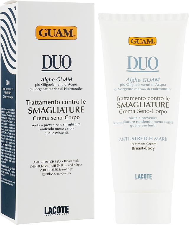 Крем от растяжек для тела и груди - Guam Duo Anti-Stretch Mark Treatment Cream