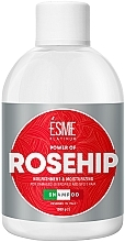 Духи, Парфюмерия, косметика Шампунь для поврежденных волос с маслом шиповника - Esme Platinum Shampoo