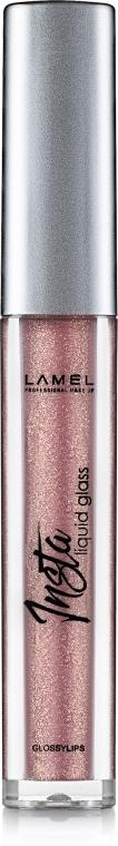 Блеск для губ - Lamel Professional Insta Liquid Glass