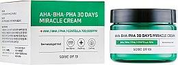 Духи, Парфюмерия, косметика Крем для лица - Some By Mi AHA/BHA/PHA 30 Days Miracle Cream