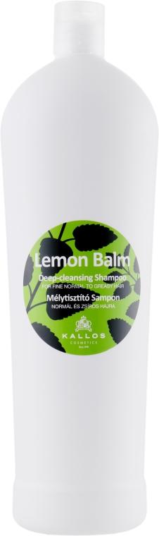 Шампунь для нормальных и склонных к жирности волос - Kallos Cosmetics Lemon Balm Shampoo