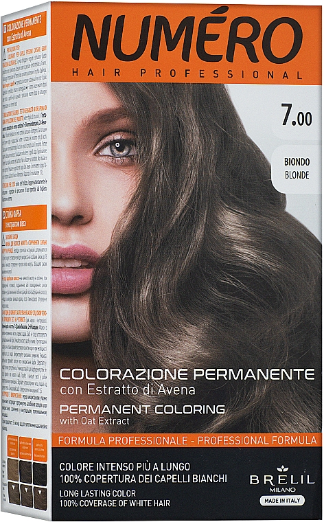 Краска для волос - Brelil Numero Permanent Coloring