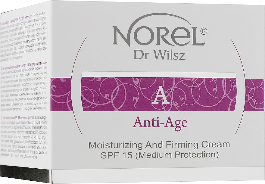 Увлажняющий и укрепляющий крем с SPF 15 для зрелой кожи - Norel Anti-Age Moisturizing and firming cream