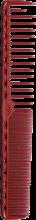 Духи, Парфюмерия, косметика Расческа для стрижки, 185мм, красная - Y.S.Park Professional 332 Cutting Combs Red
