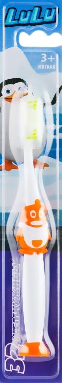 """Детская зубная щетка """"LuLu"""", мягкая, оранжевая - Modum"""