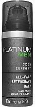 Духи, Парфюмерия, косметика РАСПРОДАЖА Увлажняющий бальзам после бритья - Dr. Irena Eris Platinum Men Skin Comfort Aftershave Balm