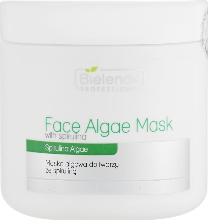 Альгинатная маска для лица со спирулиной - Bielenda Professional Algae Spirulina Face Mask