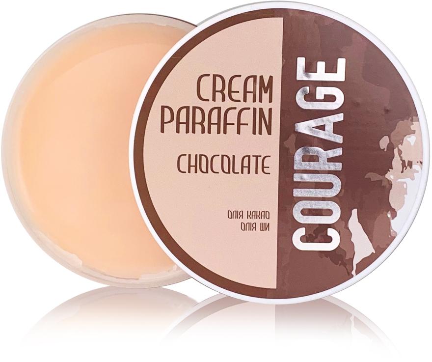 "Крем-парафин ""Шоколад"" - Courage Cream Paraffin"