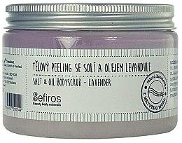 Духи, Парфюмерия, косметика Скраб для тела - Sefiros Salt & Oil Bodyscrub Lavender