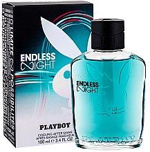 Духи, Парфюмерия, косметика Playboy Endless Night - Лосьон после бритья