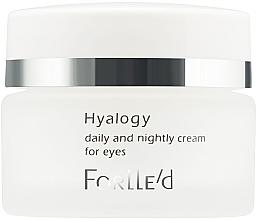 Духи, Парфюмерия, косметика Крем для кожи вокруг глаз - ForLLe'd Hyalogy Daily And Nightly Cream For Eyes