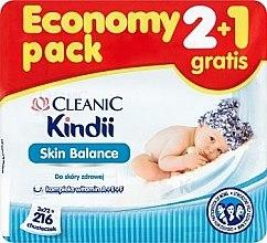 Духи, Парфюмерия, косметика Детские влажные салфетки - Cleanic Skin Balance