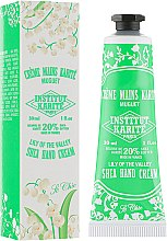 Духи, Парфюмерия, косметика Крем для рук - Institut Karite Shea Hand Cream So Chic Lily Of The Valley
