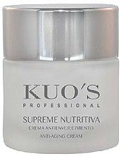 Духи, Парфюмерия, косметика Крем для лица питательный - Kuo's Supreme Nutritiva Anti-Aging Cream