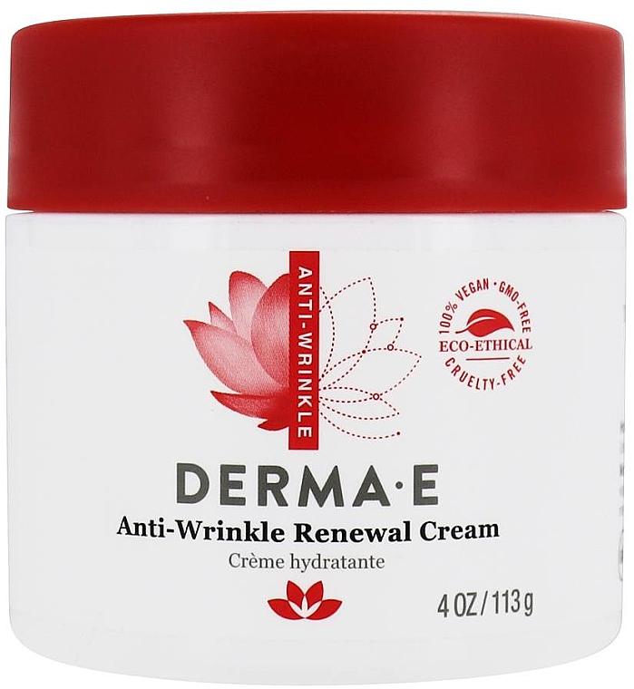 Восстанавливающий увлажняющий крем с ретинолом против морщин - Derma E Anti-Wrinkle Renewal Cream