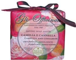"Духи, Парфюмерия, косметика Мыло ""Камелия и корица"" - Nesti Dante Gli Officinali Camellia and Cinnamon Soap"