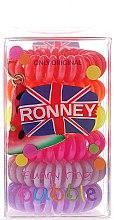 Духи, Парфюмерия, косметика Резинки для волос - Ronney Professional Funny Ring Bubble 6 pcs