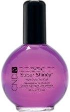 Духи, Парфюмерия, косметика Закрепитель для лака с эффектом блеска - CND Super Shiney