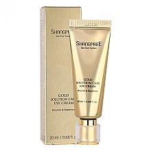 Духи, Парфюмерия, косметика Питательный крем для кожи вокруг глаз с увлажняющим эффектом - Shangpree Gold Solution Care Eye Cream