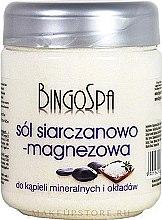 Духи, Парфюмерия, косметика Соль для ванны - BingoSpa Salt And Magnesium Sulphate