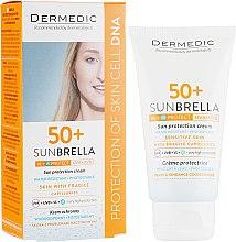 Духи, Парфюмерия, косметика Защитный крем для проблемной кожи лица - Dermedic Sun Protection Cream SPF 50