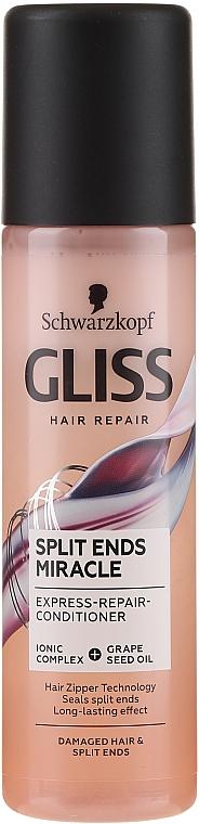 Кондиционер для поврежденных волос и секущихся кончиков - Gliss Kur Split Ends Miracle Express-Repair Conditioner