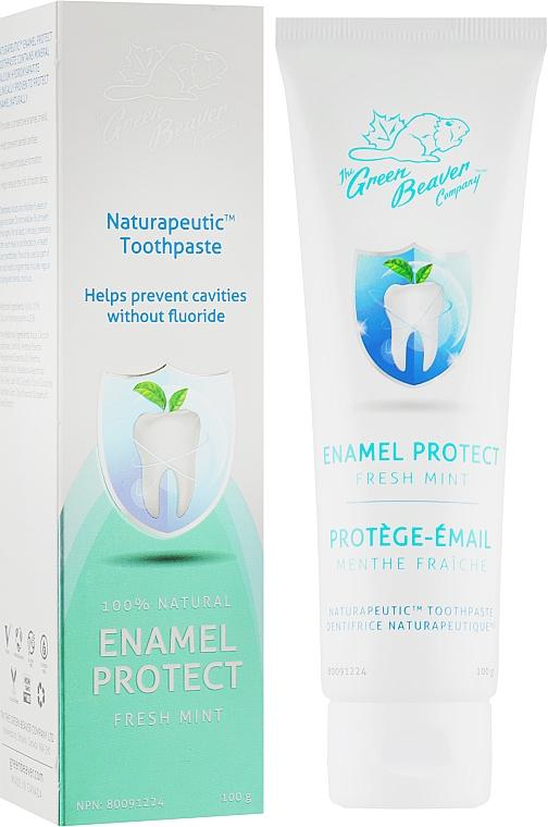 Зубная паста со вкусом мяты для восстановления эмали - Green Beaver Naturapeutic Enamel Protect Toothpaste