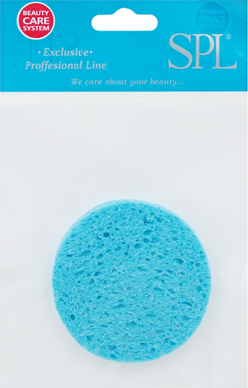 Губка для демакияжа, 96470, голубая - SPL